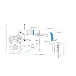 Custom Log Splitter Covers - Dual Action Log Splitter