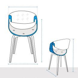 Modular Club Chair Covers - Design 2