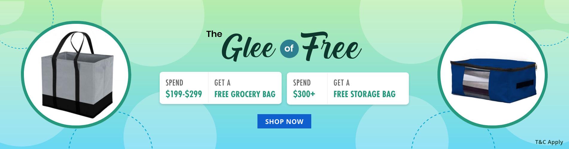 The Glee of Free - AU/CA/UK